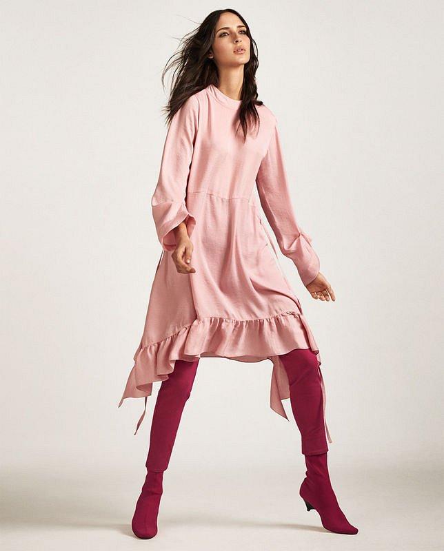 Лукбук Zara Pink весна 2017
