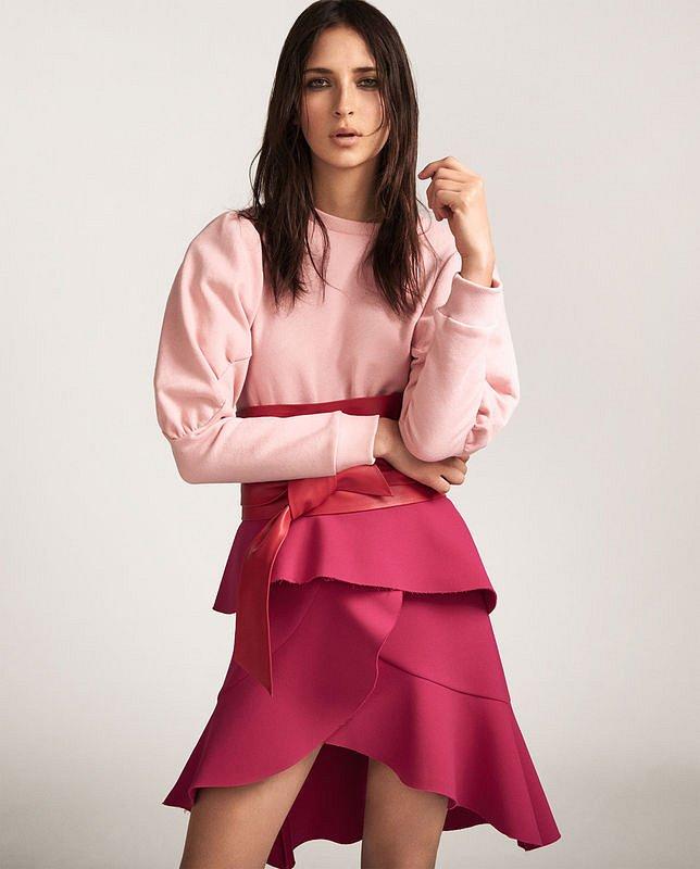 Лукбук Zara Pink весна 2017 фото №4