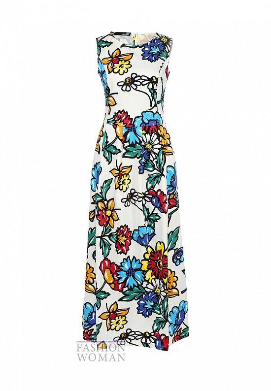 Модные макси-платья весна-лето 2014 фото №25