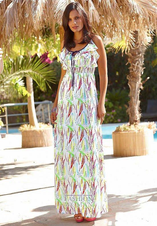 Модные макси-платья весна-лето 2014 фото №20