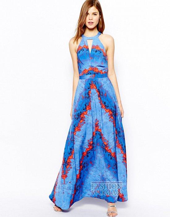 модные платья лето 2014