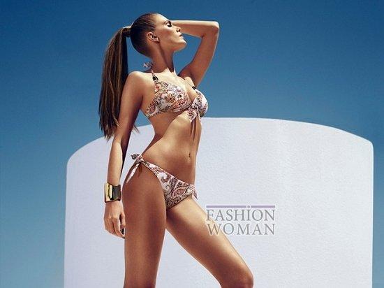 Марина Линчук в рекламе купальников Chantelle весна-лето 2014