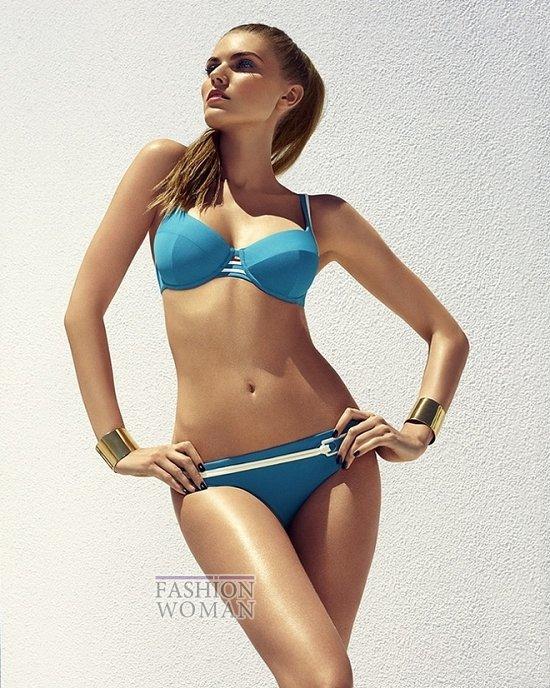 Марина Линчук в рекламе купальников Chantelle весна-лето 2014 фото №6
