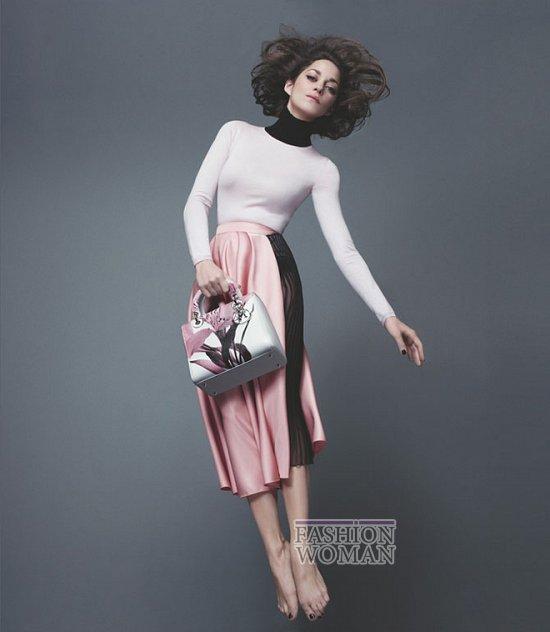 Марион Котийяр в новой рекламной кампании Lady Dior фото №4