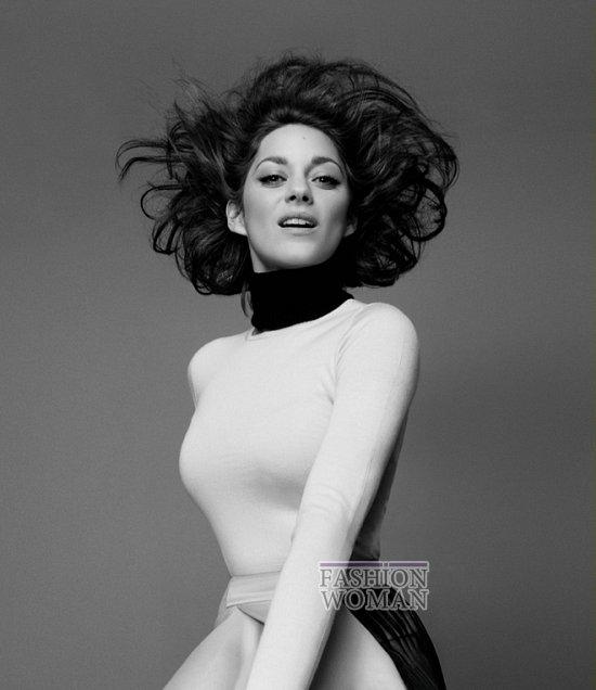 Марион Котийяр в новой рекламной кампании Lady Dior фото №7