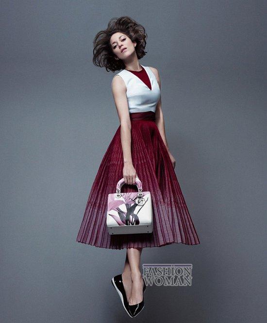 Марион Котийяр в новой рекламной кампании Lady Dior фото №3
