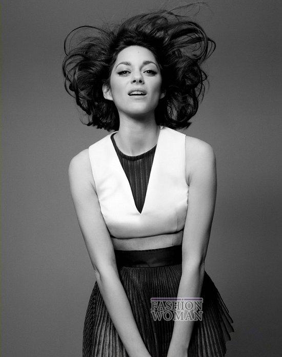 Марион Котийяр в новой рекламной кампании Lady Dior фото №8
