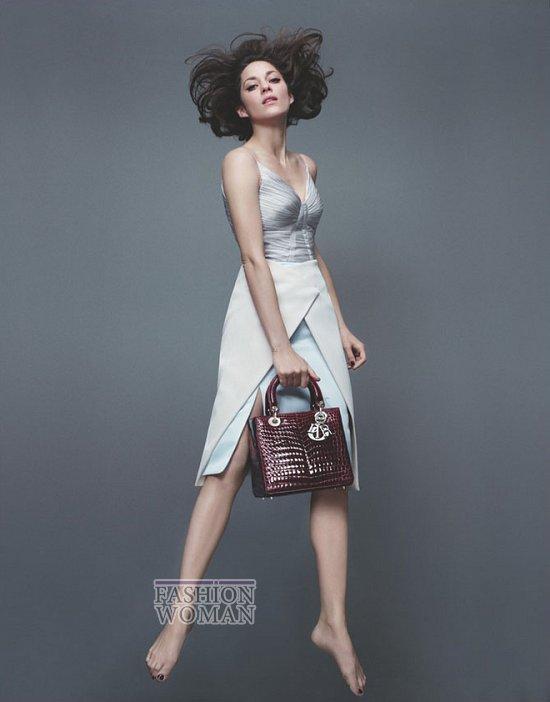 Марион Котийяр в новой рекламной кампании Lady Dior фото №5