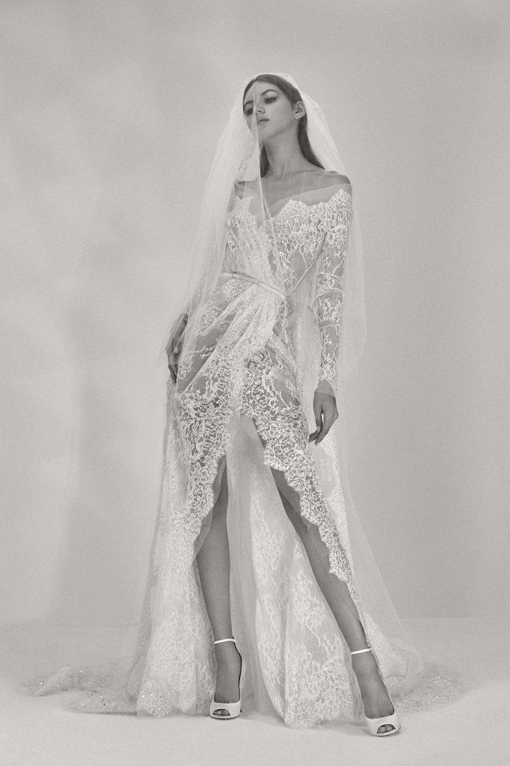 Мечта невесты: свадебные платья Elie Saab осень 2017 фото №11