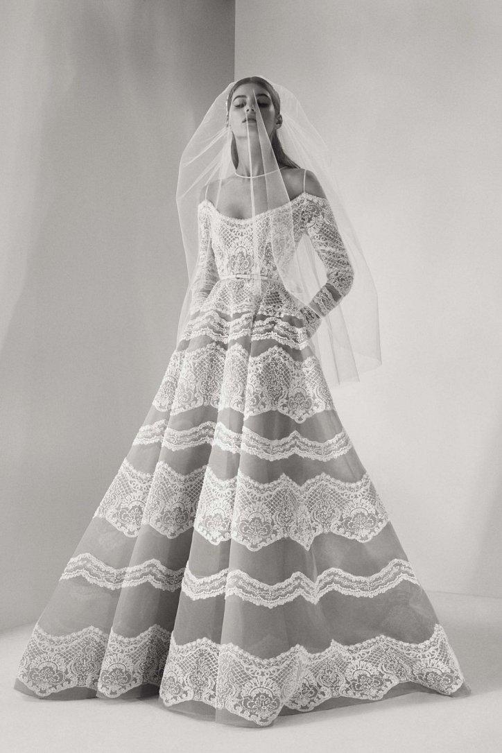 Мечта невесты: свадебные платья Elie Saab осень 2017 фото №12