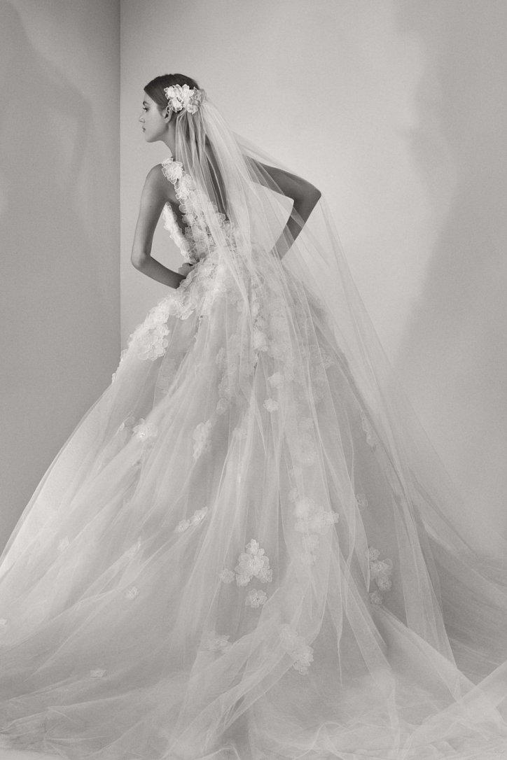 Мечта невесты: свадебные платья Elie Saab осень 2017 фото №8