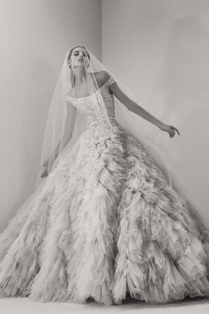 Мечта невесты: свадебные платья Elie Saab осень 2017 фото №10