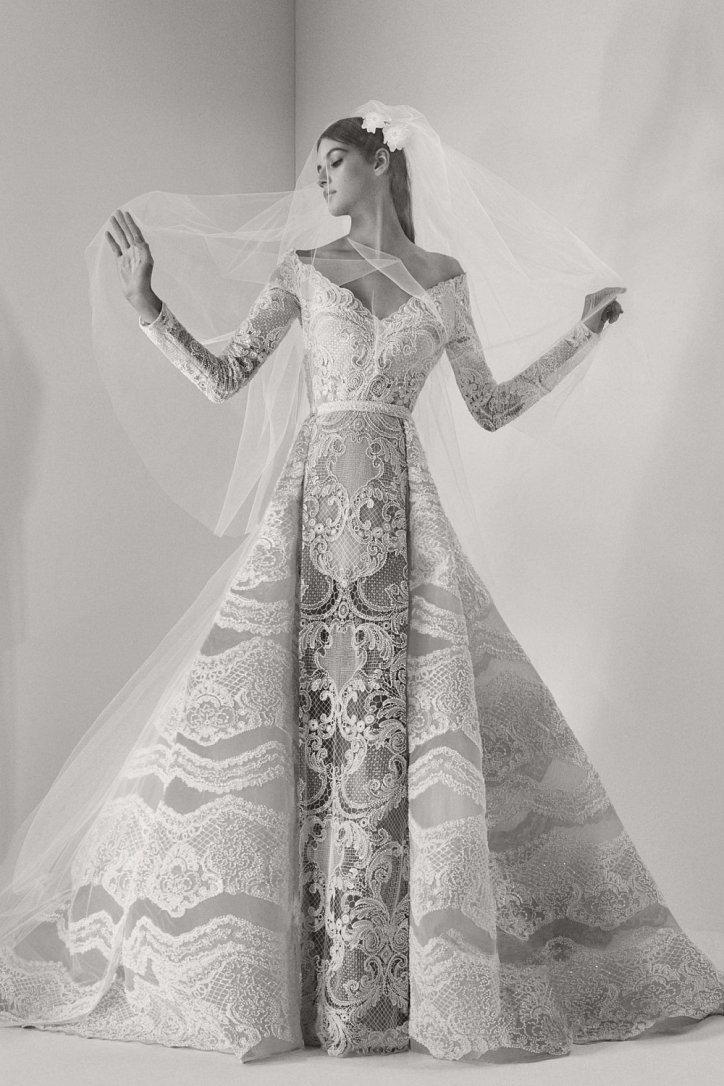 свадебные платья Elie Saab осень 2017 фото
