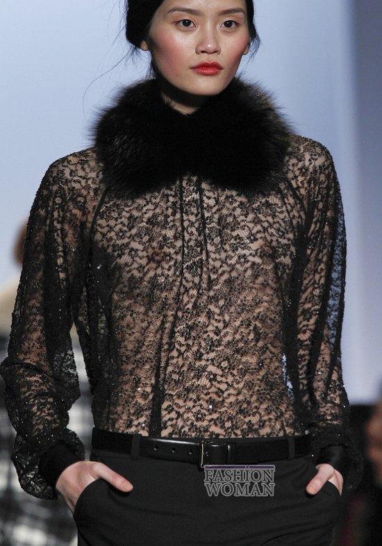 Меховой воротник - модный тренд сезона фото №1