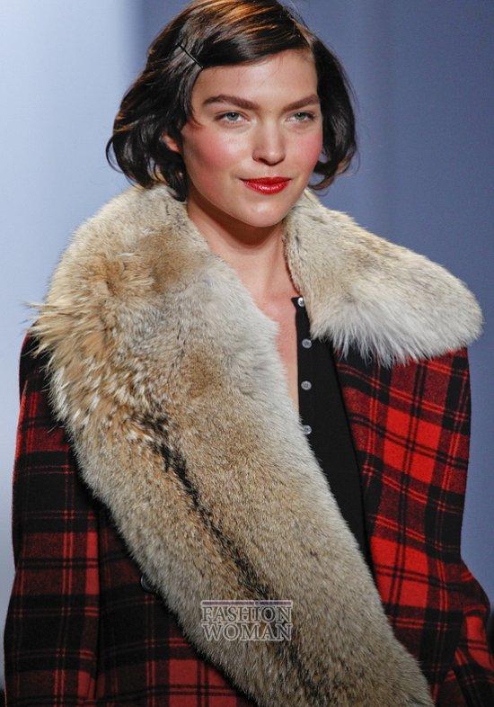 Меховой воротник - модный тренд сезона фото №6