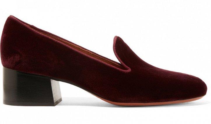 Модная обувь осени: лоферы на толстом каблуке фото №18