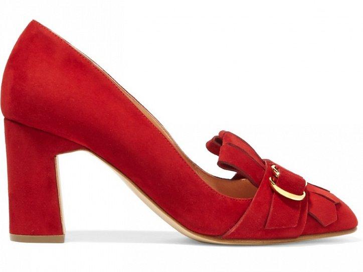 Модная обувь осени: лоферы на толстом каблуке фото №20