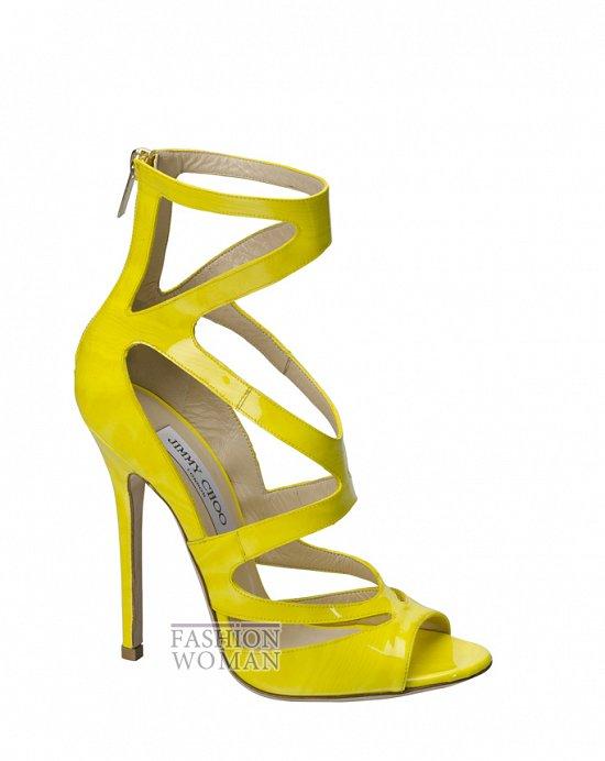 Модная обувь весна-лето 2012 от Jimmy Choo фото №68