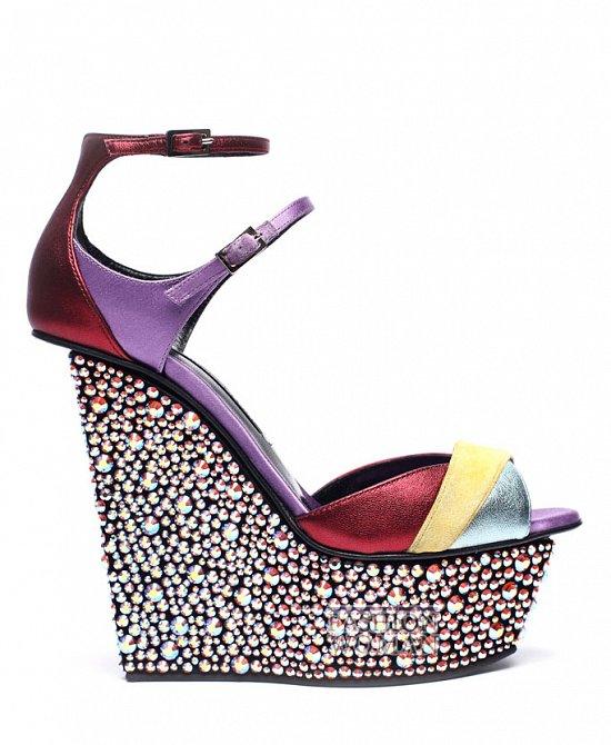обувь на платформе 2012