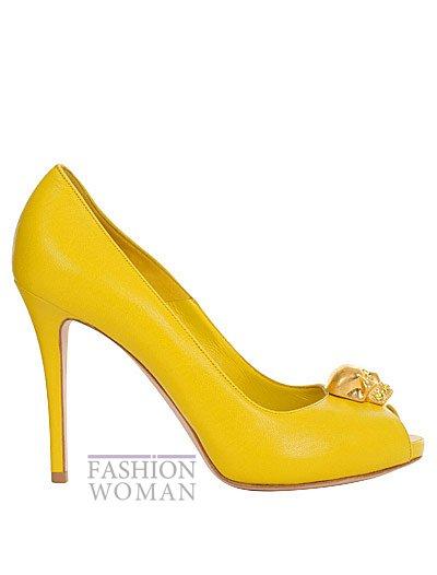 Модная обувь весна-лето 2013 от Alexander Mcqueen фото №8