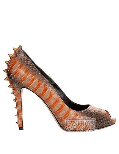 Модная обувь весна-лето 2013 от Alexander Mcqueen фото №19