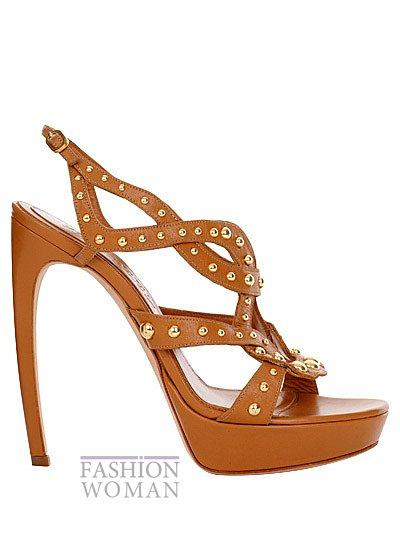 Модная обувь весна-лето 2013 от Alexander Mcqueen фото №24