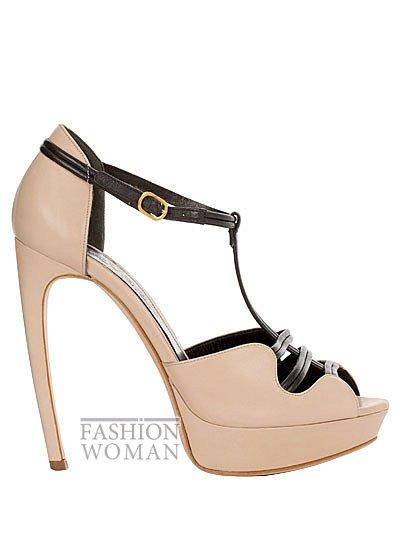 Модная обувь весна-лето 2013 от Alexander Mcqueen фото №26