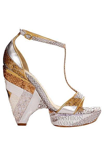 Модная обувь весна-лето 2013 от Alexander Mcqueen фото №55