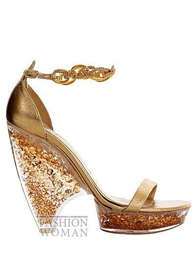 Модная обувь весна-лето 2013 от Alexander Mcqueen фото №59