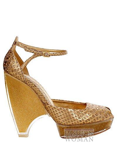Модная обувь весна-лето 2013 от Alexander Mcqueen фото №60