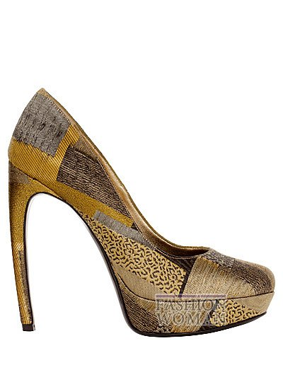 Модная обувь весна-лето 2013 от Alexander Mcqueen фото №68
