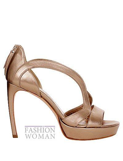 Модная обувь весна-лето 2013 от Alexander Mcqueen фото №69