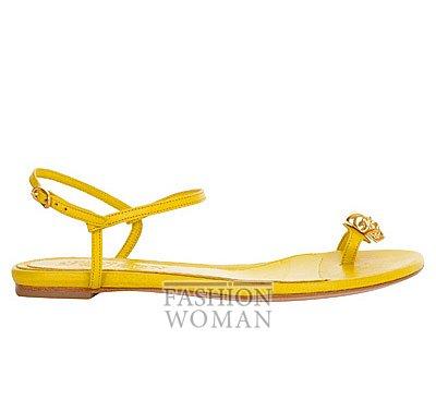 Модная обувь весна-лето 2013 от Alexander Mcqueen фото №72