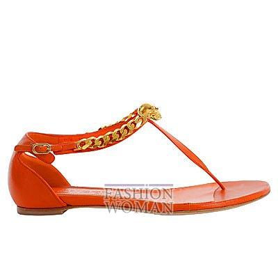 Модная обувь весна-лето 2013 от Alexander Mcqueen фото №76