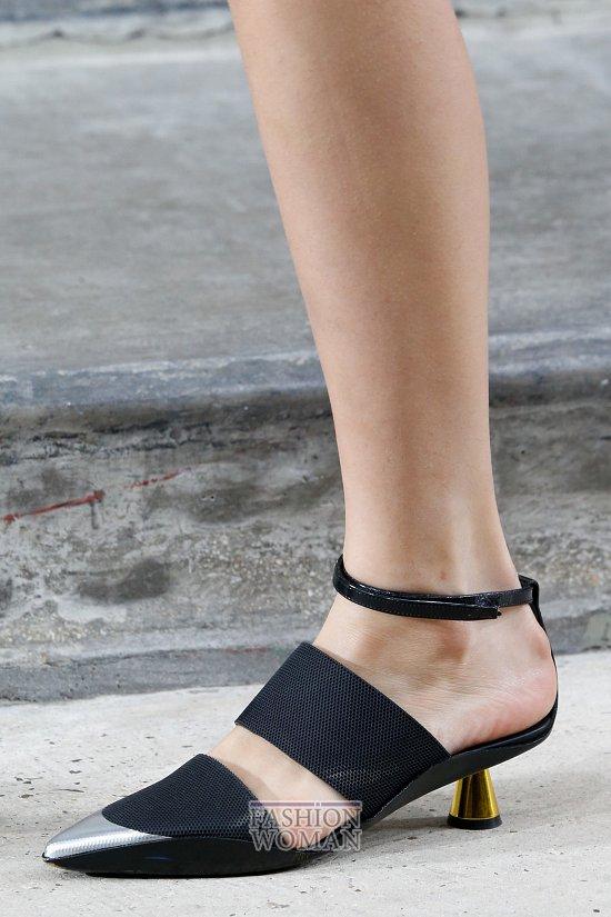 Модная обувь весна-лето 2015 фото №10