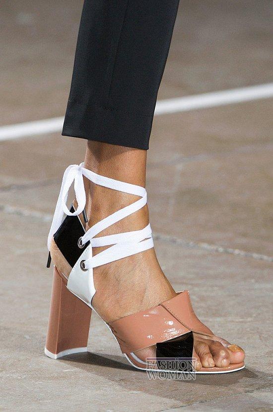 Модная обувь весна-лето 2015 фото №65