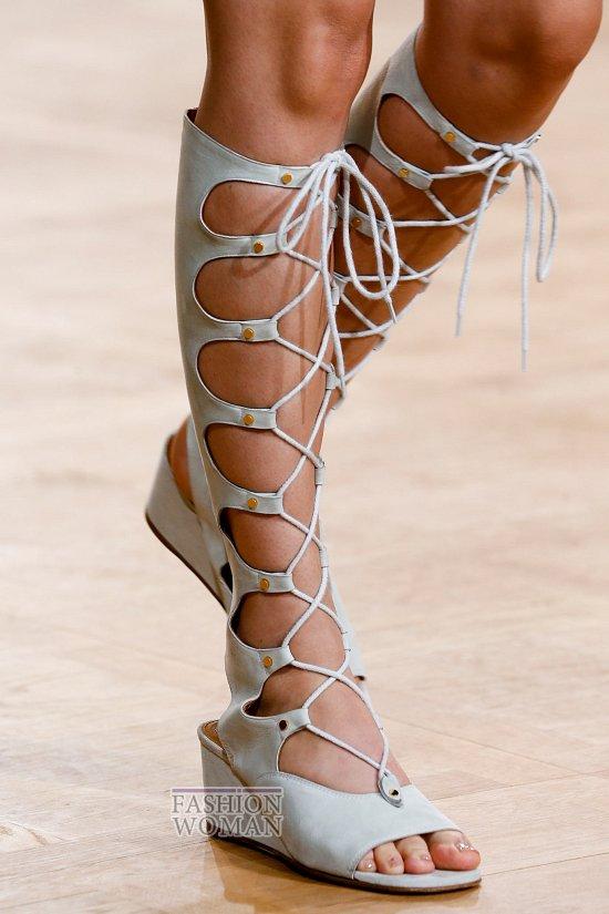 Модная обувь весна-лето 2015 фото №70