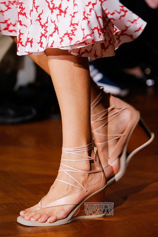 Модная обувь весна-лето 2015 фото №75