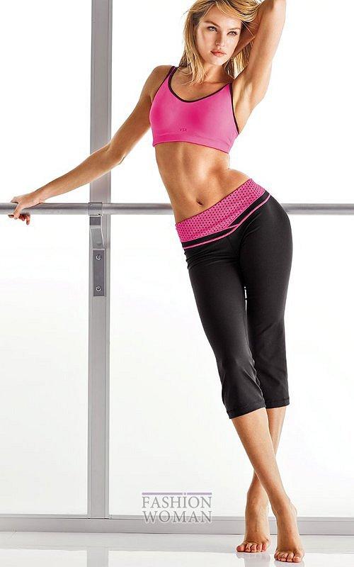 Модная спортивная одежда Victoria's Secret VSX весна 2012 фото №5