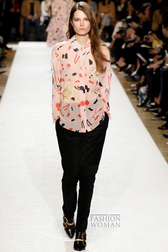 Модные блузки осень-зима 2014-2015 фото №2