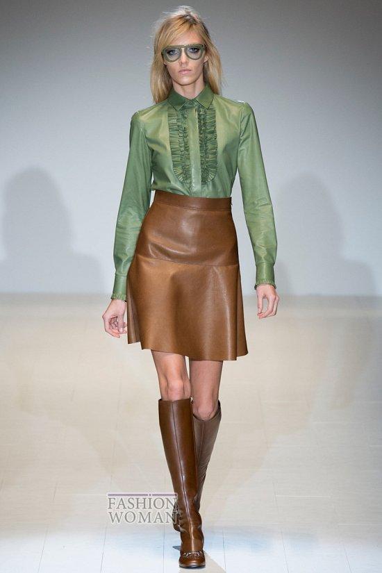 Модные блузки осень-зима 2014-2015 фото №1