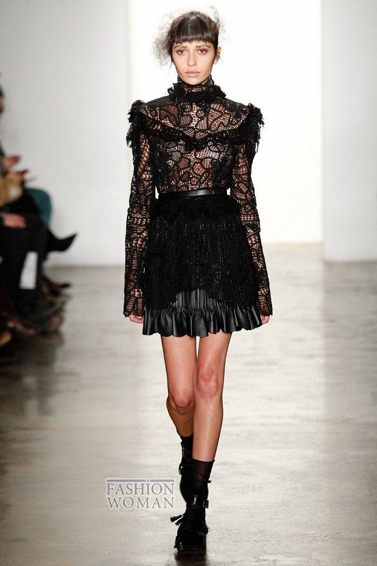 Модные блузки осень-зима 2014-2015 фото №15