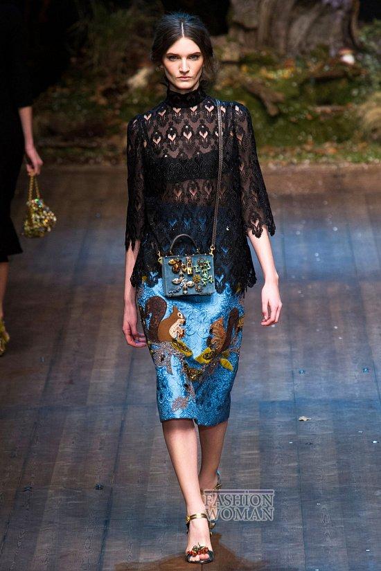 Модные блузки осень-зима 2014-2015 фото №14