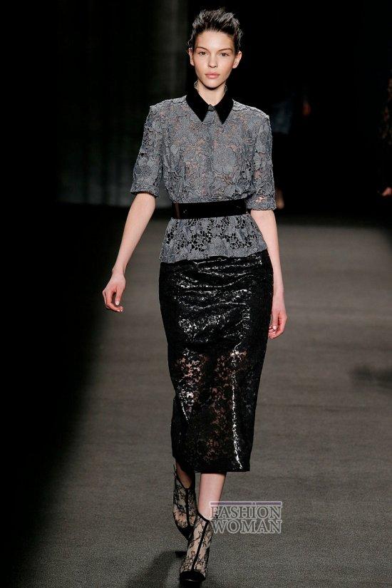 Модные блузки осень-зима 2014-2015 фото №13