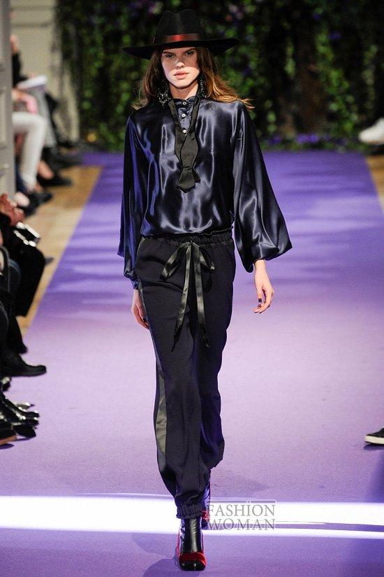 Модные блузки осень-зима 2014-2015 фото №17