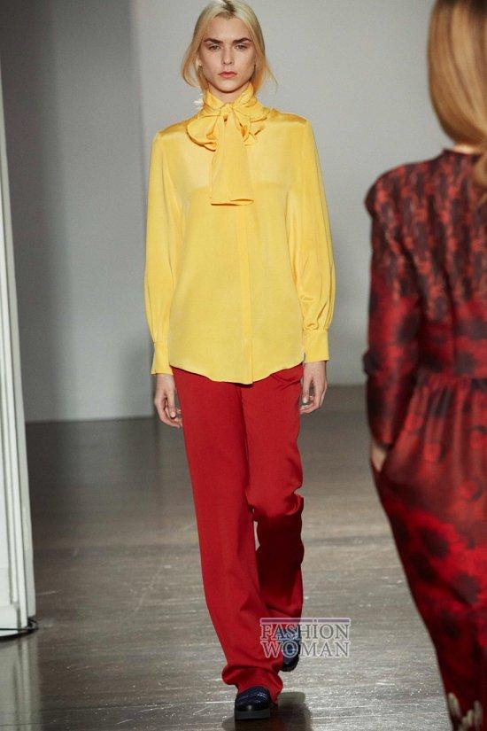 Модные блузки осень-зима 2014-2015 фото №18