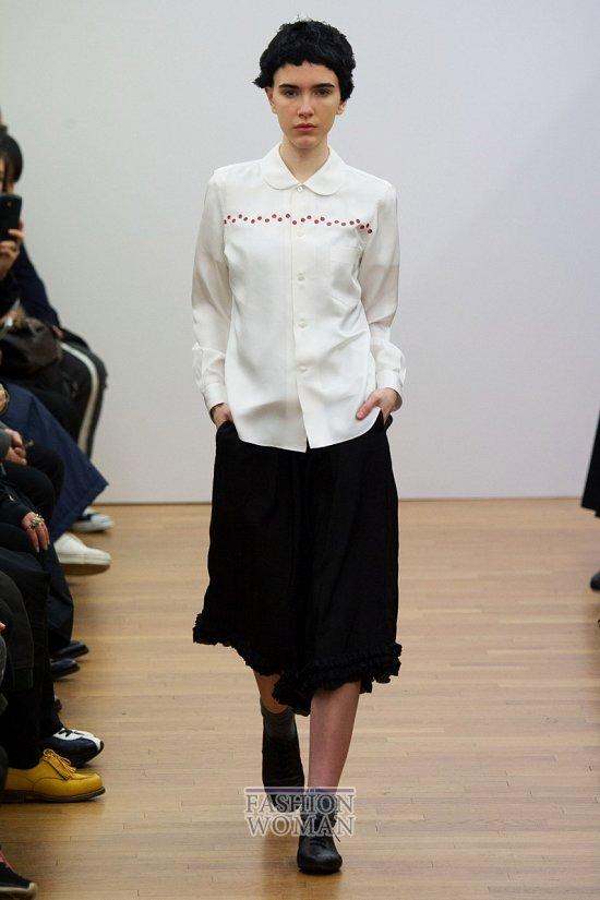 Модные блузки осень-зима 2014-2015 фото №26