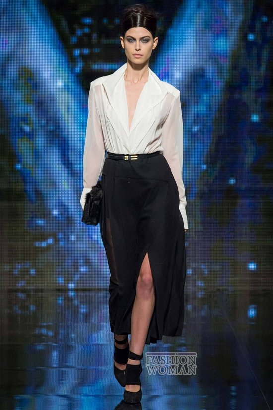 Модные блузки осень-зима 2014-2015 фото №23