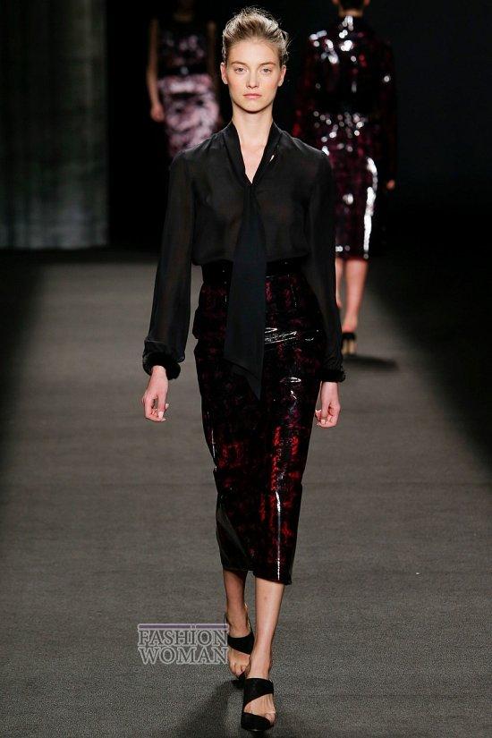 Модные блузки осень-зима 2014-2015 фото №27