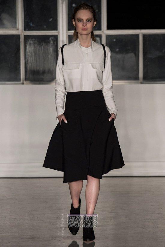 Модные блузки осень-зима 2014-2015 фото №30